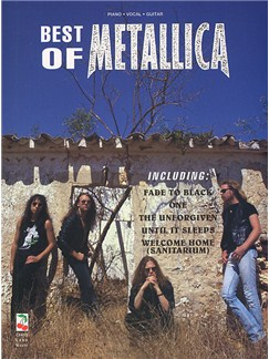 Best Of Metallica Books | Piano and Voice, with Guitar chord boxes