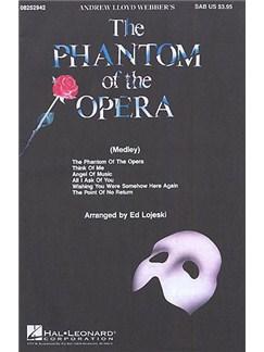 Andrew Lloyd Webber: Phantom Of The Opera Choral Medley (SAB) Livre | SAB, Accompagnement Piano
