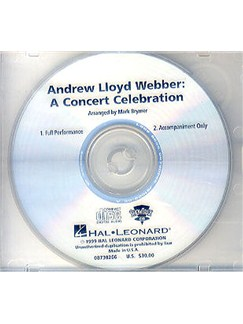 Andrew Lloyd Webber: A Concert Celebration (ShowTrax CD) CDs | Voice