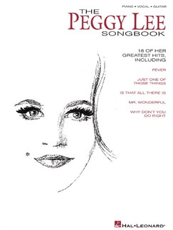 The Peggy Lee Songbook Books | Piano and Voice, with Guitar chord boxes