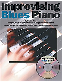 Improvising Blues Piano Books and CDs | Piano & Guitar, with chord symbols