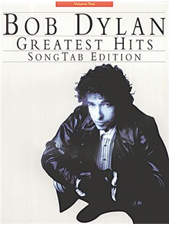 Bob Dylan: Greatest Hits Songtab Edition Books | Guitar Tab, with guitar chord boxes