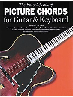 The Encyclopedia Of Picture Chords For Guitar And Keyboard Books | Guitar, Keyboard, Piano