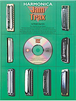 Jam Trax: Harmonica Books and CDs | Harmonica
