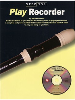 Step One: Play Recorder Books and CDs | Recorder