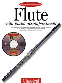 Solo Plus Classical: Flute Books and CDs | Flute, Piano