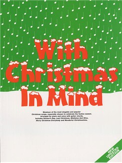 With Christmas In Mind Books | Piano and Voice, with Guitar chord symbols