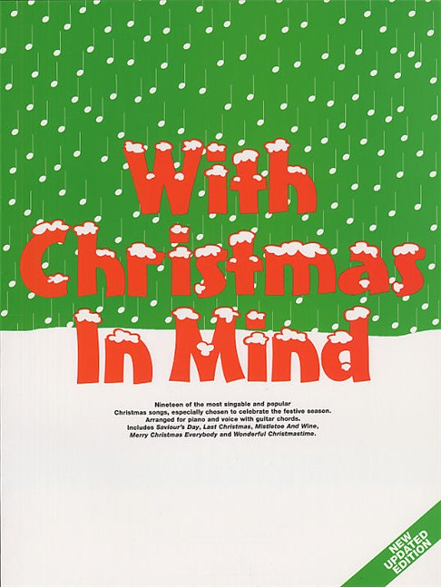 With Christmas In Mind - Piano, Vocal & Guitar Sheet Music - Sheet ...