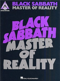 Black Sabbath: Master Of Reality - Guitar Recorded Versions Books | Guitar Tab