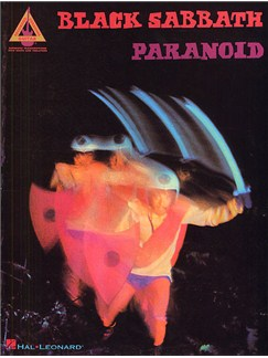 Black Sabbath: Paranoid - Guitar Recorded Versions Books | Guitar Tab, with chord symbols