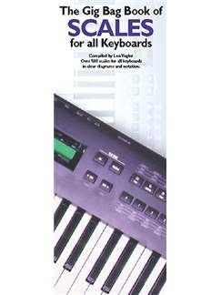The Gig Bag Book Of Scales For All Keyboards Books | Keyboard