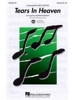 Eric Clapton: Tears In Heaven (SAB/Piano) Books | Soprano, Alto, Bass, Piano