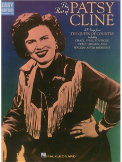 The Best Of Patsy Cline (Easy Guitar) Books | Guitar Tab, with chord symbols