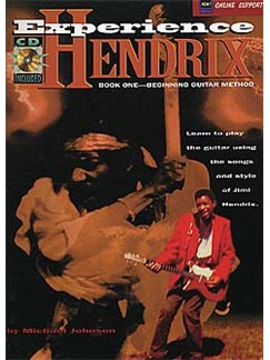 Experience Hendrix Book One: Beginning Guitar Method Books and CDs | Guitar Tab, with chord symbols
