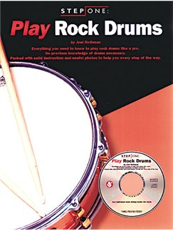 Step One: Play Rock Drums Books and CDs | Drums