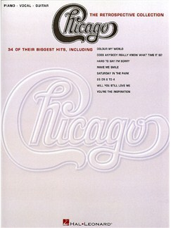 Chicago: The Retrospective Collection Books | Piano and Voice, with Guitar chord boxes