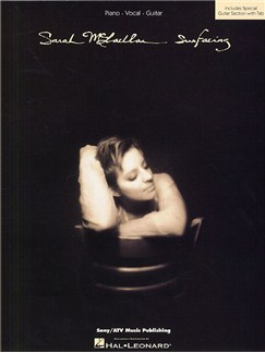 Sarah McLachlan: Surfacing Books | Piano, Vocal and Guitar