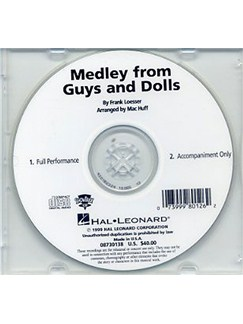 Frank Loesser: Guys And Dolls Medley (ShowTrax CD) CDs |