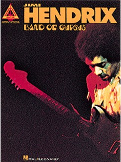 Jimi Hendrix: Band Of Gypsys - Guitar Recorded Versions Books | Guitar Tab, with chord symbols