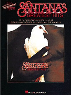 Santana: Greatest Hits (Transcribed Scores) Livre | Partitions De Groupes