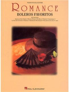 Romance: Boleros Favoritos Libro | Piano, Voz y Guitarra(Pentagramas )