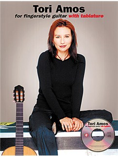 Tori Amos For Fingerstyle Guitar Books and CDs | Guitar Tab, with guitar chord boxes