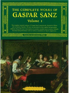Complete Works Of Gaspar Sanz (Slipcase Edition) Bog | Guitar