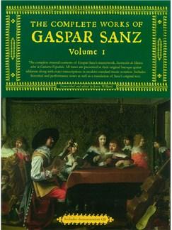 Complete Works Of Gaspar Sanz (Slipcase Edition) Books | Guitar