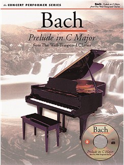 J.S. Bach: Prelude in C Major Books and CD-Roms / DVD-Roms | Piano