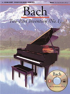 J.S. Bach: Two-Part Invention (No. 1) Books and CD-Roms / DVD-Roms | Piano