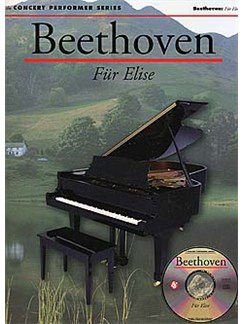 Beethoven: Fur Elise (Book/CD-ROM) Books and CD-Roms / DVD-Roms | Piano