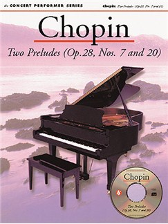 Chopin: Two Preludes (OP.28, Nos. 7 and 20) Books and CD-Roms / DVD-Roms | Piano