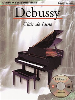 Debussy: Clair De Lune Books and CD-Roms / DVD-Roms | Piano