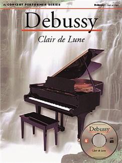 Debussy: Clair De Lune CD-Roms / DVD-Roms et Livre | Piano