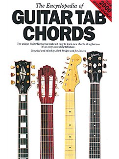 The Encyclopedia Of Guitar Tab Chords Books | Guitar Tab, with guitar chord boxes