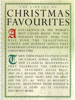 The Library Of Christmas Favourites Books | Piano, Vocal & Guitar (with Chord Symbols)
