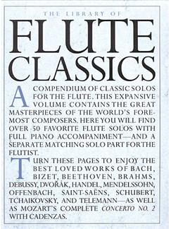 The Library Of Flute Classics Books | Flute, Piano Accompaniment