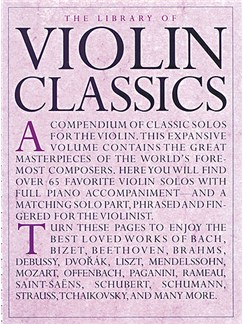 The Library Of Violin Classics Books | Violin, Piano Accompaniment