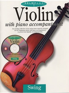 Solo Plus: Swing Violin Books and CDs | Violin, Piano