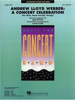 Andrew Lloyd Webber: A Concert Celebration (Score/Parts) Livre | Partitions De Groupes