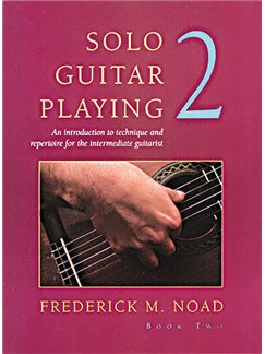 Frederick Noad: Solo Guitar Playing Book 2 Books | Guitar