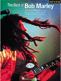 The Best Of Bob Marley (Easy Guitar) Livre | Ligne De Mélodie, Paroles et Accords (Symboles d'Accords)
