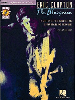 Eric Clapton: The Bluesman Guitar Signature Licks Books and CDs | Guitar Tab, with chord symbols