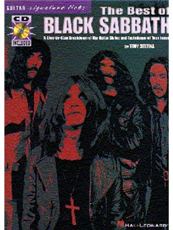 The Best Of Black Sabbath: Guitar Signature Licks Books and CDs | Guitar Tab, with chord symbols