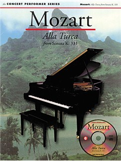 Mozart: Alla Turca Books and CD-Roms / DVD-Roms | Piano