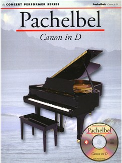 Pachelbel: Canon in D CD-Roms / DVD-Roms et Livre | Piano