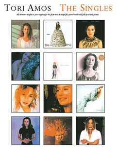 Tori Amos: The Singles Books | Piano, Voice and Guitar Chord Boxes