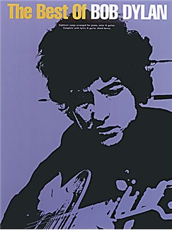 The Best Of Bob Dylan Books | Piano and Voice, with Guitar chord boxes