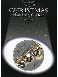 Guest Spot: Christmas Playalong For Flute CD et Livre | Flûte Traversière