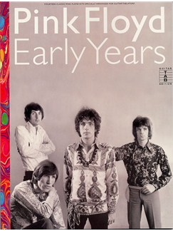 Pink Floyd: Early Years Books | Guitar Tab, with chord symbols